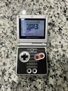 Nintendo Gameboy Advance Sp Ags-001 Nes Edition W/ Super Mario 3 And Oem Charger