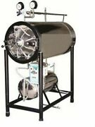 Autoclave Horizontal Cylindrical With Separate Boiler Capacity 60 Liters