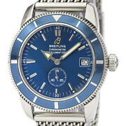 Polished Breitling Super Ocean Heritage 38 Automatic Mens Watch A37320 Bf532707