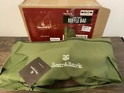Extra Large Duffle Bag - Green 46x20 - Canvas Military And Army Cargo Style