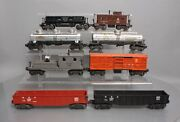 Lionel Vintage O Assorted Freight Car Lot 3656, 2420, 6462, 6555, 3469 [8]