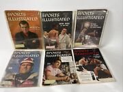 Vintage Lot Of 6 Sports Illustrated Magazines Issues 1950s 1955-1959