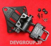 Wilcox Ops-core Usa L4g 32 Nvg Mount Early Version Rare Black Free Shipping