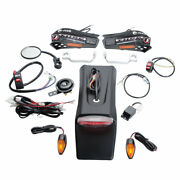 Tusk Motorcycle Enduro Lighting Kit With Handguard Turn Signals With Taillight