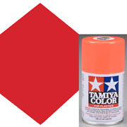 New Tamiya Ts-36 Fluorescent Red Lacquer Spray Paint 3 Oz Free Us Ship