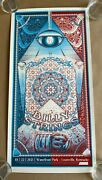 Billy Strings Poster Louisville 5/22 Night 2 Signed Ap Red+blue Variant 2/4