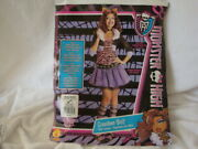 Clawdeen Wolf From Monster High By Rubies Costumes Adult Ladies Large Brand New