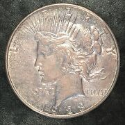 1923/1923 Peace Dollar 2 Heads And No Tails - Magicianand039s Flipping Coin E601