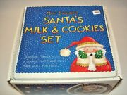 Mary Engelbreit Milk And Cookies For Santa Set Plate And Mug In Box Me Ink 1995