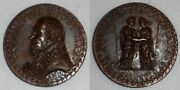 Vatican Bronze Medal Pope Innocent X Bust Left Anno Ii Justice And Mercy Embracing