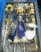 Real Action Heroes Fate Zero Saber Magic Square Included Figure Statue W/ Box