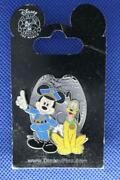 Walt Disney World Dlr - Pin 47631 Officer Mickey Mouse And K9 Pluto Badge