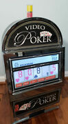 Video Poker Machine 7-in-1 Card Games Touchscreen Touch Large 24 Reczone 1960