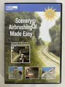 Scenery And Airbrushing Made Easy Dvd By Model Railroader Products