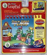 New Leapfrog My First Leap Pad Once Upon A Rhyme Learning System + Cartridge New