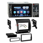 Concept Dvd Usb Bluetooth Stereo Dash Kit Wire Harness For 05-11 Toyota Tacoma