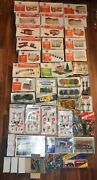 Huge Lot Bachmann Plasticville O Scale Buildings New Old Stock Trees Accessories