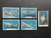 Wonders Of Modern Aircraft 1950's Weeties Vita-brits Lot Of Cereal Trading Cards