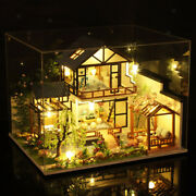 Handcraft Modern 1/24 Wood Dollhouse And Dustproof Case 3d Puzzles Home Decor