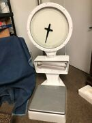 White Howe Commercial Bakery Scale. Good Condition. Sold As Is.