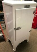 Antique Frigidaire Gm R114 Apartment Refrigerator. Nicely Refinished. Sold As Is