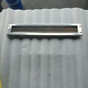 Crownline Stainless Boat Vent Bilge Blower Exhaust Vent Rear Deck Louvers