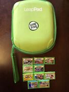 Leap Frog Leap Pad Explorer Games Ultra Ebooks And Carrying Case - 11 Pcs