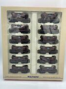 Walthers 932-4453 Ore Cars 12 Pack Chicago And North Western Cnw New