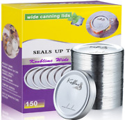 150-count Canning Lids Wide Mouth Canning Lids For Ball Kerr Jars Split-type