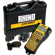 Dymo 1756589 Rhino 5200 Industrial Labeling Tool. Includes And Carrying Case