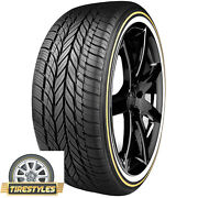 4 245/35r20 Vogue Tyre White/gold 245 35 20 Tires