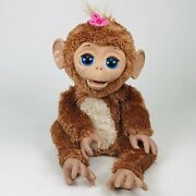 Hasbro Furreal Friends Cuddles My Giggly Monkey 17 Interactive Pet 2012 A1650