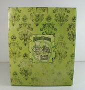 A4 Disney Haunted Mansion O'pin House 40th Anniversary Le Hatbox Ghost Figurine