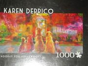 Hooray For Hollwood 1puzzle 1000 Piece Puzzle By Karen Derrio Sealed In Box