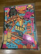 Dave Matthews Band Poster Foil Chicago, Il Northerly Island 8/7/2021 N2 Rare