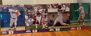 Lot Of Four Vintage 90s Sports Illustrated Poster Displays 6517 6234 6249 6558