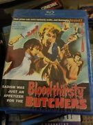 Bloodthirsty Butchers New Bluray Code Red Andy Milligan Severin Films Shout