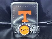 Tennessee Volunteers Ncaa Stainless Steel Relic Watch By Fossil New Rare