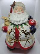 Christopher Radko Trail Cookie Jar Signed Retired With Tag And Box
