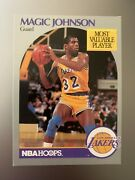 Nba Hoops Magic Johnson Most Valuable Player Card