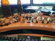 Vintage Homco Porcelain Instrunent Playing Bears - Band Members