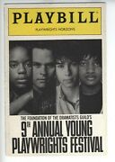 Merlin Santana 1976-2002 Rare Autograph Playbill 9th Annual Young Playwrights