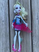 Monster High Lagoona Blue First Wave Doll And Accessories Earrings Missing 1 Fin