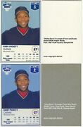 Rare 1987 Kraft Home Plate Heroes White-back Sample Cards You Pick 20 Off 2