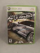 Need For Speed Most Wanted Microsoft Xbox 360, 2005