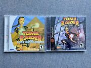 Sega Dreamcast Lot- 2 Sealed Games Tomb Raider Chronicles And The Last Revelation