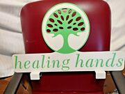 Original All Metal Double-sided Healing Hands Display Sign
