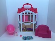 Barbie Glam Getaway Fold Up Barbie House 2014 Mattel And Accessories