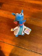 Nwt Disney Doc Mcstuffins Plush Blue Dragon In Lab Coat 9 New With Tags