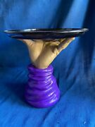 Vintage Halloween Severed Hand Animated Butler Serving Tray Thing Adams Family